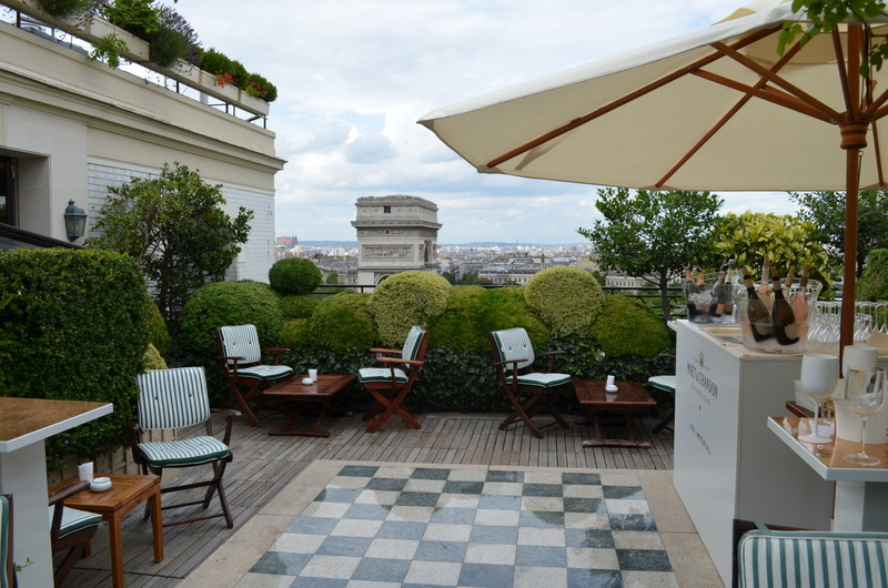 A Secret Garden u2026Hotel Raphael in Paris French For A While!